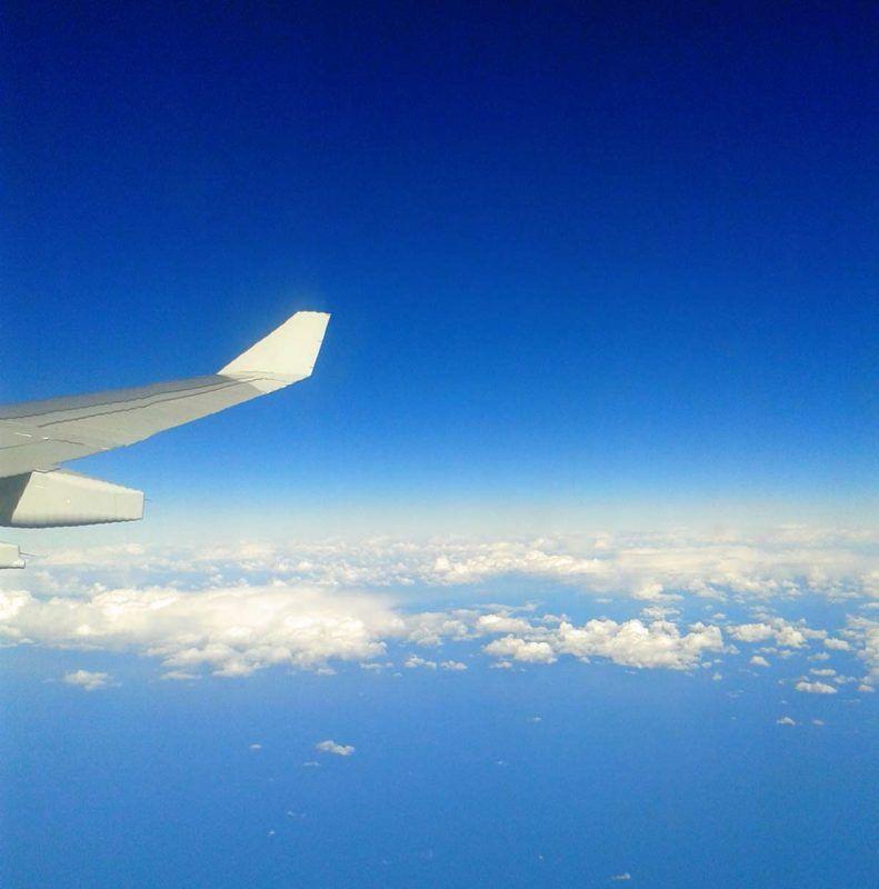 Blog - Volar en avión