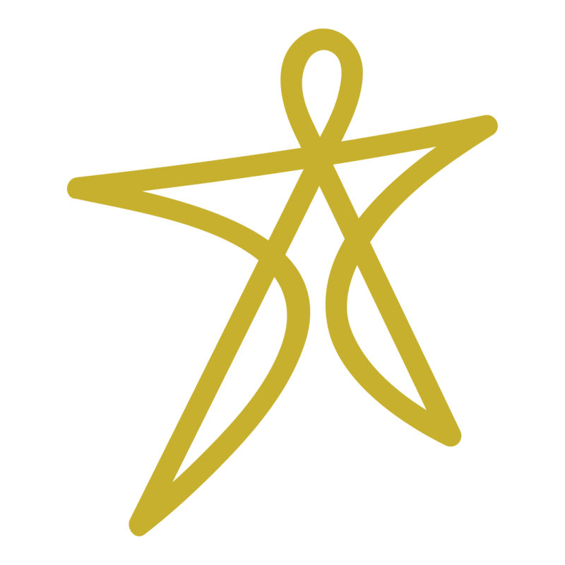 Imagotipo Plenicidad - Oro Principal